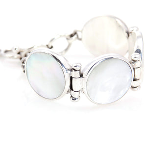 KenSu Jewelry Mother Pearl Jewelry Bracelet Hand Made Jewelry