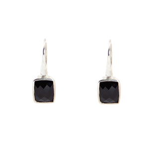 KenSu Jewelry Dangle Earrings - with Black Onyx Signature Collection Hand Made Jewelry