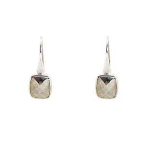KenSu Jewelry Dangle Earrings - with Pyrite Signature Collection Hand Made Jewelry