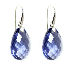 Iolite Hydro Drop Earrings - Signature Collection
