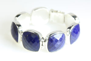 Bracelet - Link Lapis Lazuli Sterling Silver - Signature Collection