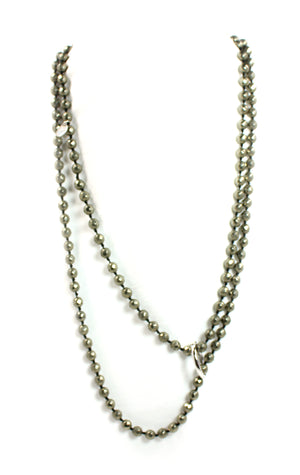 Pyrite Necklace - Signature Collection