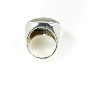 Pyrite Oval Ring - Signature Collection
