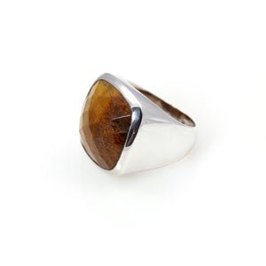 Tiger Eye Ring - Signature Collection