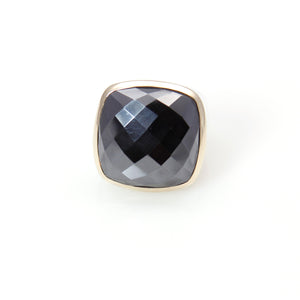 Hematite Ring 14ct Gold Sterling Silver Signature Collection