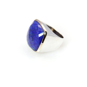 Lapis Lazuli 14ct Gold Sterling Silver Signature Collection