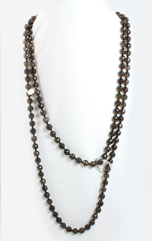 Smokey Quartz Necklace - Signature Collection
