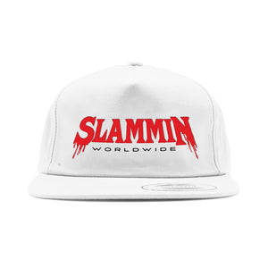 Graveyard Unstructured Snapback White
