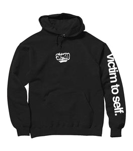 Victim to Self Hoodie Black