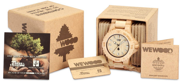 wewood wood watch