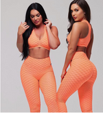 Angie Brazilian Fitbabe Set - Butt Lift Leggings and PushUp sports Bra