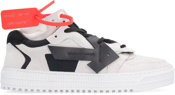 Low Top sneakers Off-White 3.0 leather and techno-fabric