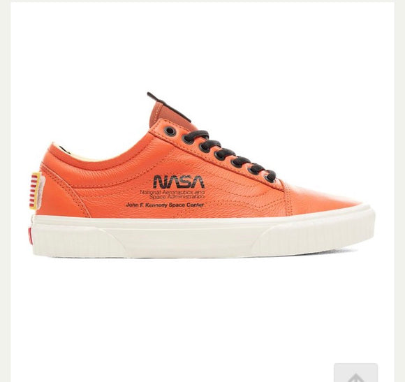 Vans x NASA Space Voyager Old Skool Orange