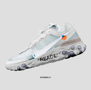 Off-White x Nike React Element 87