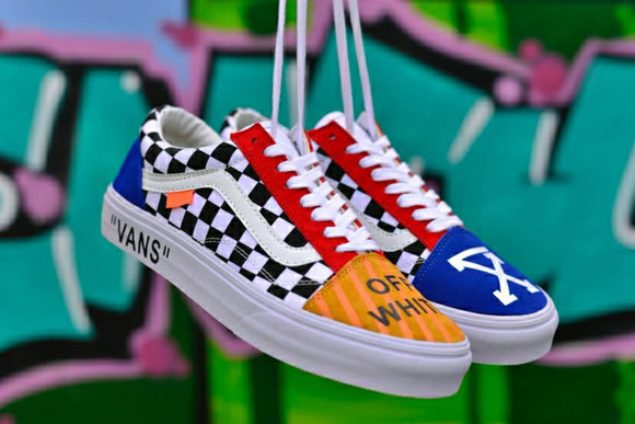 Vans Old Skool Off White Mixed Colour