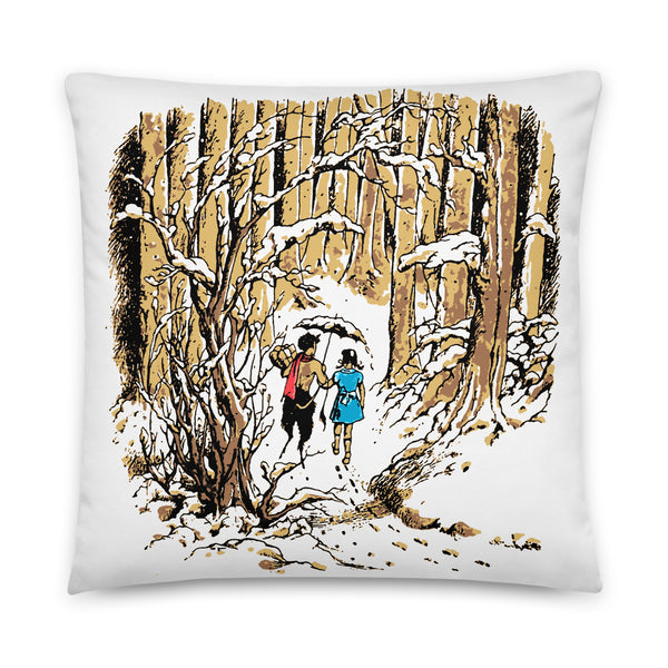 Chilly Stroll Pillow