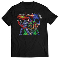 Rocking, Rolling, and Racing T-shirt