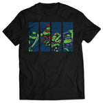 Pixelated Reptiles T-shirt