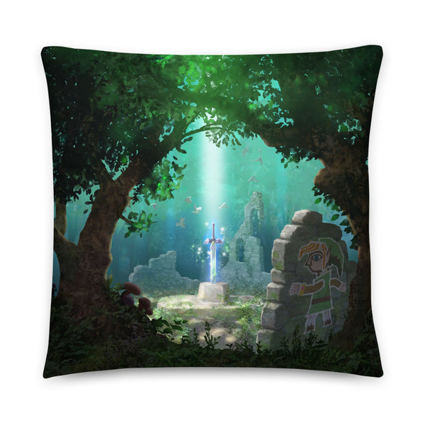 Masterful Sword Pillow