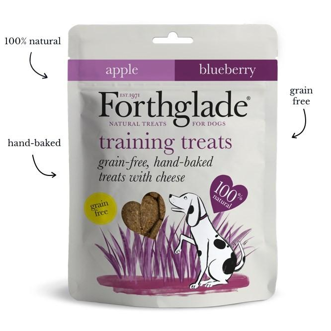 Forthglade - Training Treats Cheese Apple & Blueberry 150g