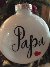 Load image into Gallery viewer, Papa Ornament