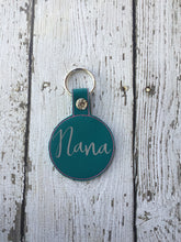 Load image into Gallery viewer, Personalized Nana Keychain