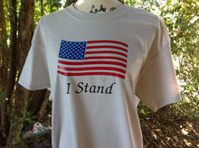 Load image into Gallery viewer, American Flag Military Shirt, Military American Flag Shirt, Military American Flag Shirt, I Stand For America Shirt, Birthday