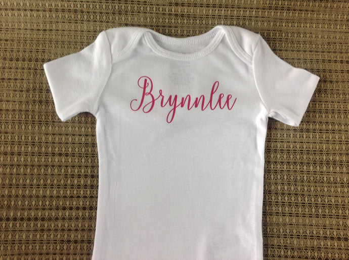 Personalized Baby Name Bodysuit, Baby Personalized Name Bodysuit, Baby Name Personalized Bodysuit, Baby Personalized Gift, Newborn Gift