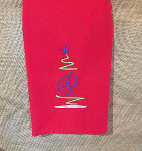 Personalized Christmas Kitchen Towel, Christmas Kitchen Towel Personalized, Kitchen Towel Personalized Christmas, Christmas Kitchen Decor