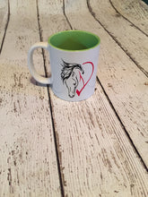 Load image into Gallery viewer, Horse Lover's Coffee Mug Mother's Day Wedding Valentine's Day Birthday Christmas Gift