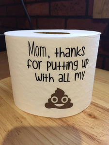Mom Thank You Funny Gag Gift, Funny Thank You Mom Gag Gift, Thank You Mom Funny Gag Gift, Funny Birthday Gift, Funny Mom Gag Gift