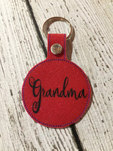 Load image into Gallery viewer, Grandma Keychain Gift, Keychain Gift Grandma, Birthday Gift Grandma Keychain, Keychain Gift For Grandma, Grandma Christmas Keychain Gift