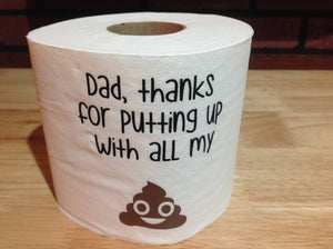 Dad Thank You Gag Gift, Thank You Dad Gag Gift, Gag Gift Dad Thank You, Dad Thank You Gift Ideas, Dad Thank You Funny Birthday Gift