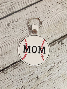 Baseball Mom Keychain, Mom Baseball Keychain, Baseball Mom Keychain, Baseball Mom Birthday Gift Ideas, Baseball Mom Christmas Gift