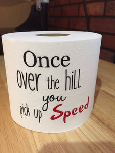 Over the Hill Funny Birthday Gag Gift, Funny Birthday Gag Gift Over The Hill, Gag Gift Over The Hill Funny Birthday, 40th Birthday Funny