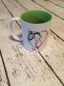 Horse Lover's Coffee Mug Mother's Day Wedding Valentine's Day Birthday Christmas Gift