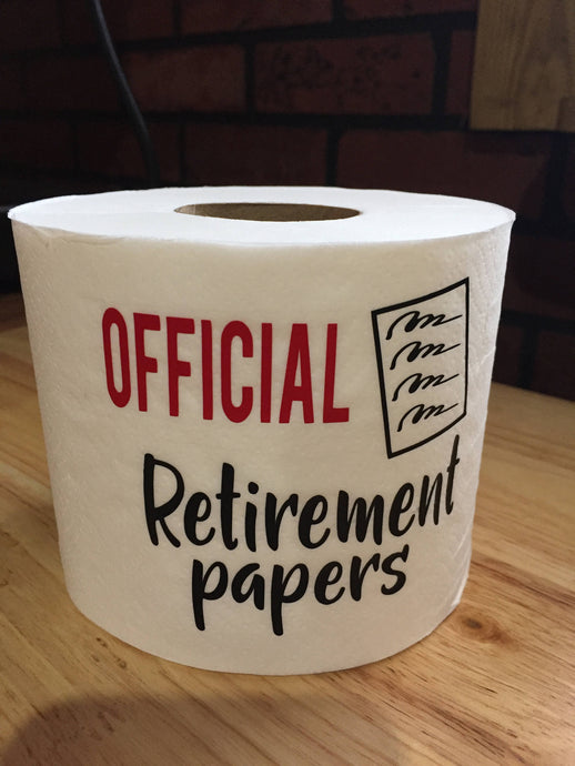 Funny Retirement Gag Gift, Retirement Gag Gift Funny, Gag Gift Funny Retirement, Official Retirement papers Gag Gift, Retirement Funny Gift