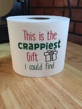 Load image into Gallery viewer, Funny Christmas Gift, Christmas Gift Funny, Gift Funny Christmas, Crappiest Funny Christmas Gift, Crappiest Gift Ever
