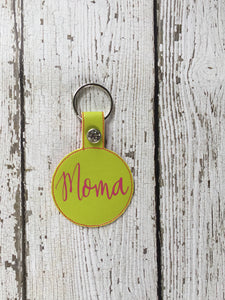 Personalized Moma Keychain, Moma Personalized Keychain, Keychain Personalized Moma, Moma Personalized Gift, Moma Birthday Christmas Gift