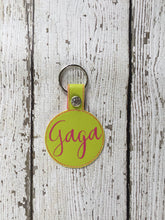 Load image into Gallery viewer, Personalized Gaga Keychain, Gaga Personalized Keychain, Keychain Personalized Gaga, Gaga Personalized Gift, Gaga Birthday Christmas Gift