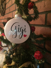 Load image into Gallery viewer, Gigi Ornament, Gigi Ornament Gift, Gigi Gift Ornament, Gigi Gift Ideas, Gift For Gigi, Gigi Christmas Gift, Gigi Christmas Ornament