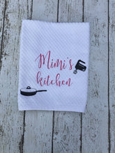 Load image into Gallery viewer, Personalized Mimi Kitchen Gift, Mimi Kitchen Gift Personalized, Kitchen Gift Personalized Mimi