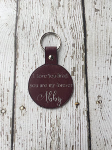 Boyfriend Gift Personalized, Boyfriend Gift Keychain, Couple Gift For Boyfriend, Custom Keychain For Boyfriend, Wedding Gift, Anniversary