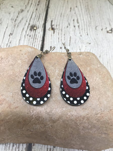 Cat Lover Gift Jewelry, Cat Mom Gifts, Cat Mom Jewelry, Cat Paw Necklace, Cat Lover Gift Women, Cat Earrings, Cat Earrings Dangle, Cat Gift