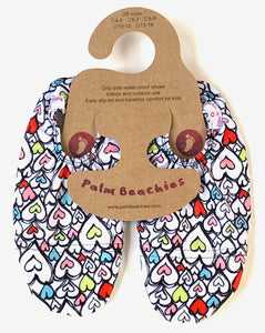 Kids water shoes- hearts design