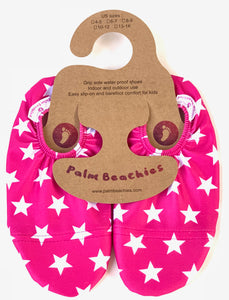 Kids water shoes- Stars design on hanger