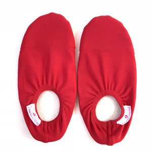 Kids water shoes- All red design