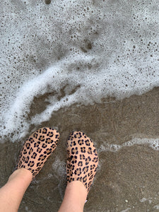Leopard Adult Water Shoes
