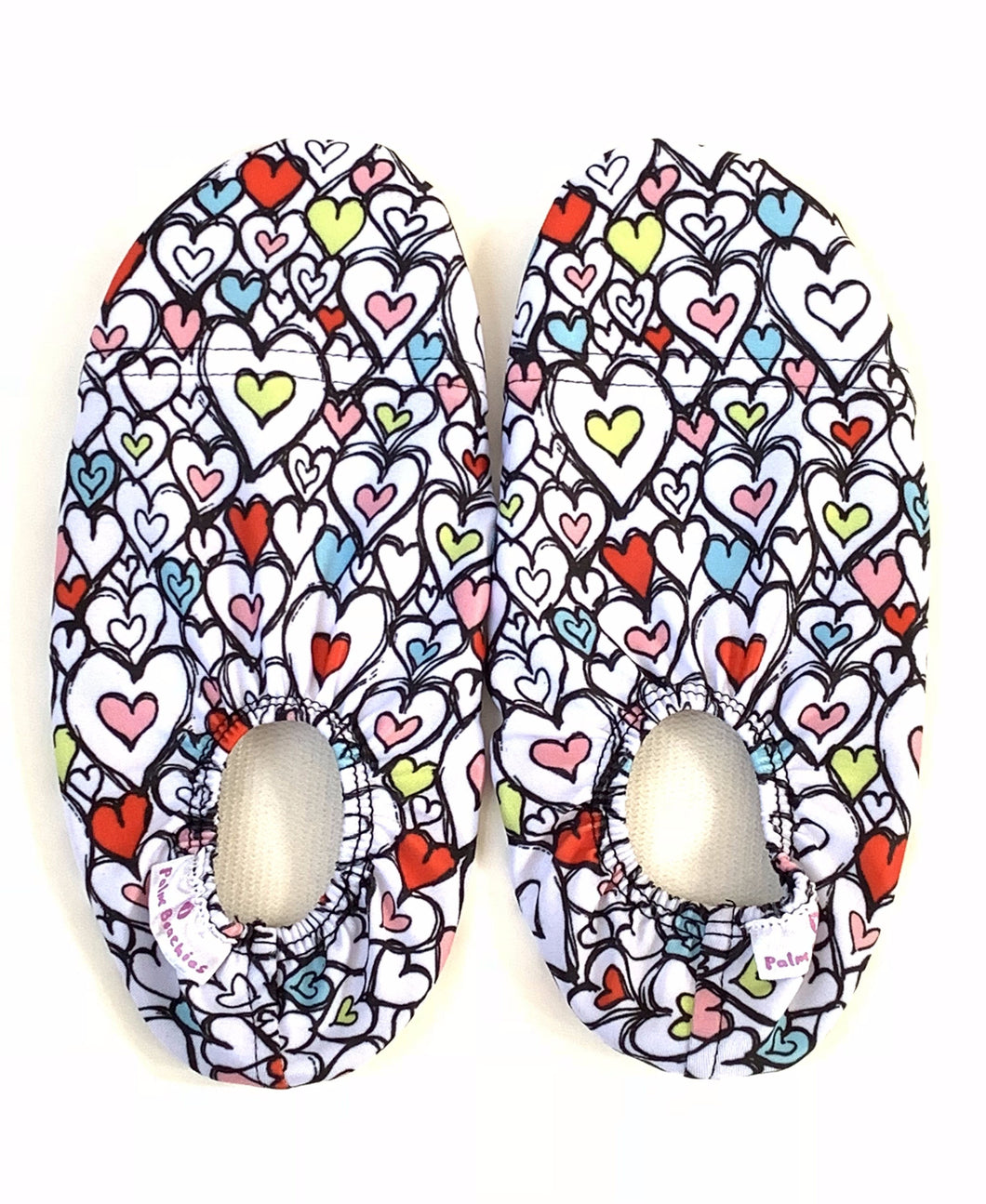 Kids water shoes - hearts design