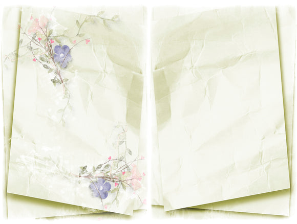 Pink & Green Journal Papers, Digital